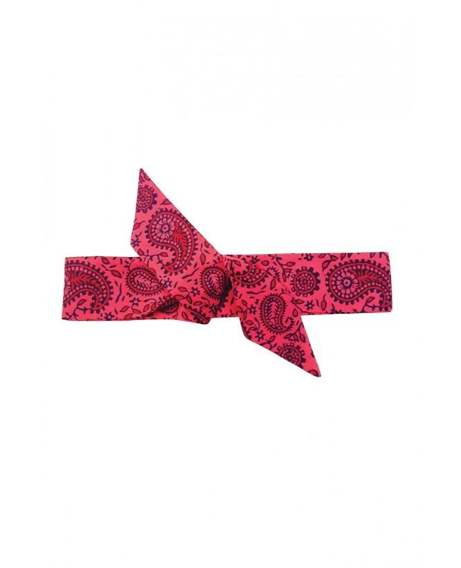 hysteriko - Bandeau Suzon - Cachemire Rose Bleu
