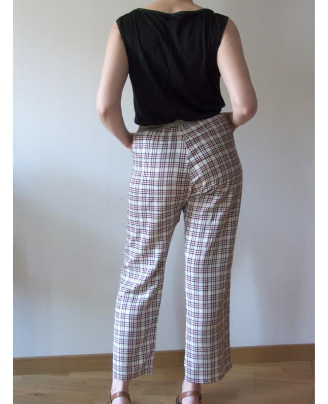 hysteriko - Pantalon Georgia Ecossais